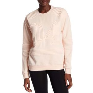 Ivy Parks Corded Blush Pink Pull Over Crop
